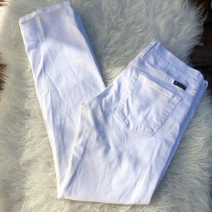 Lucky Brand Sienna Tomboy Jeans in White